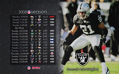 2008 Oakland Raiders Schedule