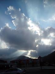 天空的光影變化
