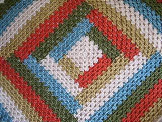 Ravelry: Grannys Baby Log Cabin Blanket pattern by ...