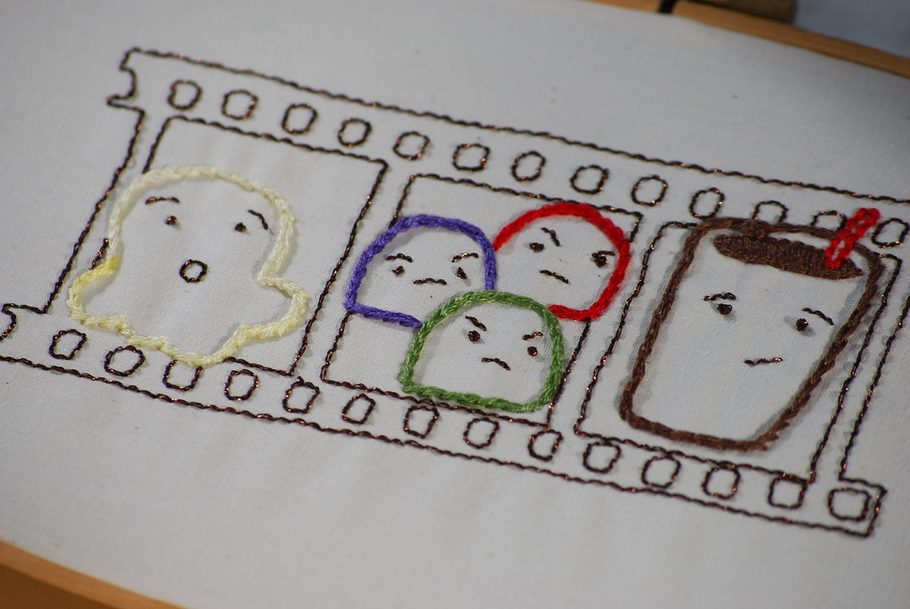 Cinema Snackers Embroidery