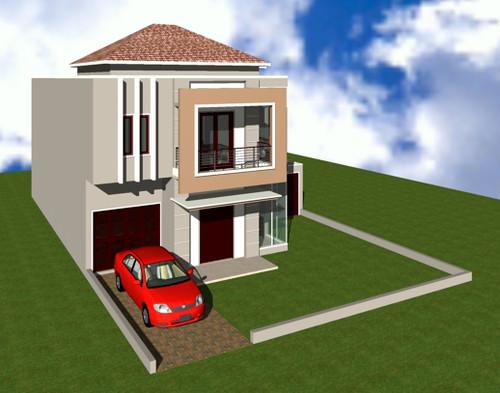 rumah minimalis modern tipe 36