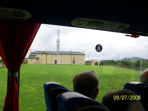 Ireland - Ring of Kerry Tour - former trans atlantic cable station - now a police station