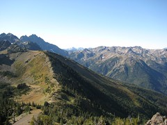 29 - Marmot Pass in the distance - bottom left