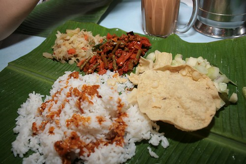 Banana Leaf at my favorite place