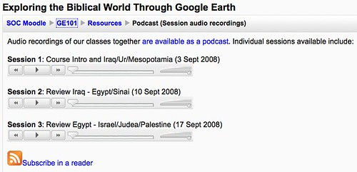 Exploring the Biblical World Through Google Earth