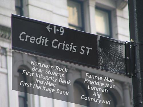 wall street credit crisis