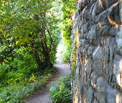 Fort Tryon 4 (Trish Mayo) Tags: newyork wall path manhatten pathway washingtonheights forttryonpark