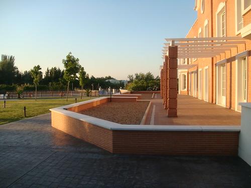 Puesta de sol en el Hotel Eurostar Zarzuela Park - Aravaca - Madrid