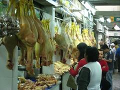 Meat market:  Dead Chickenz.