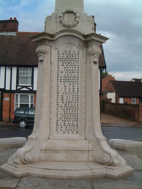 Wymondham - The Great War 1914-1919  - Panel 3 by Moominpappa06