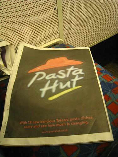 Pizza Hut diventa Pasta Hut?