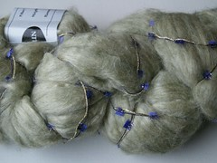 Lambspun silk/wool