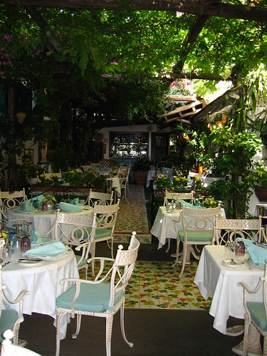 Interior of L' Antica Trattoria