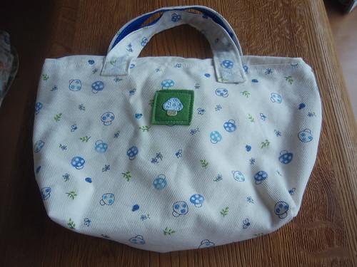 hand-made bento bag