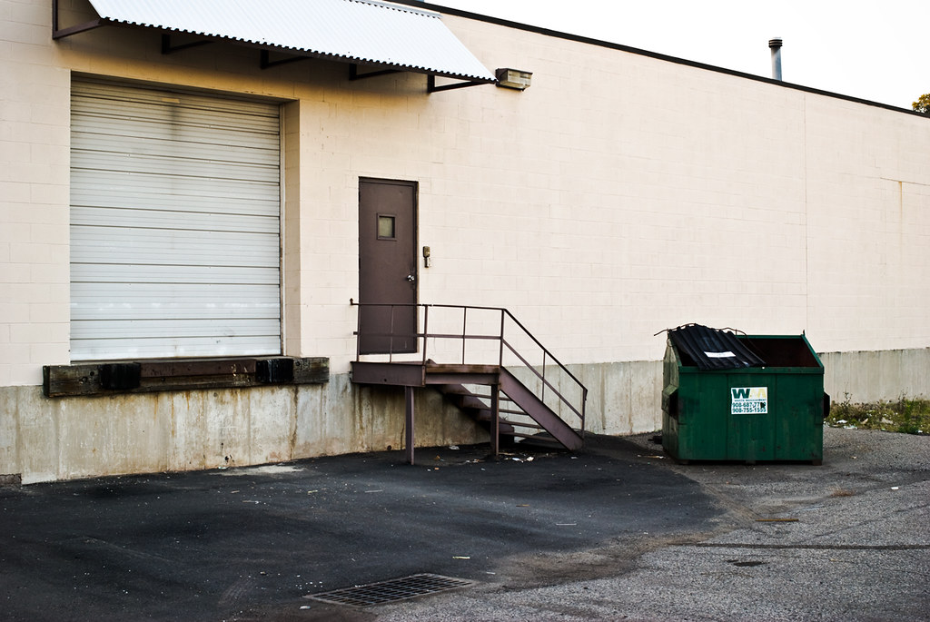 Two Doors and Dumpster, October 15th