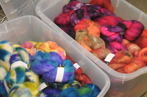 Abstract Fiber roving