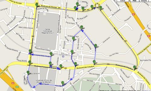 parcours-5000-metres-Evry-plan