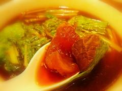 鼎泰豐紅燒牛肉湯