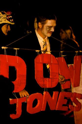 Le Dow Jones, complètement moribon