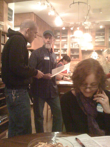 At the Obama phone bank