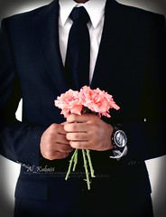 (uis) Tags: flowers classic 50mm costume 4 watch tie ascot s chanel gentleman  450d  alkubaisi
