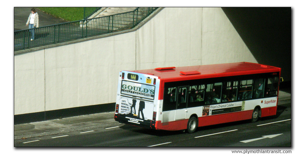 Plymouth Citybus 59 WA51ACV