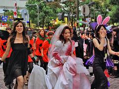 Bloody bride  Kawasaki Halloween 2008 27