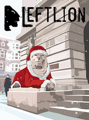 LEFT LION XMAS COVER