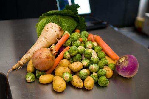Hutsepot: de groenten