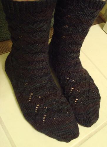 Spooky Monkey Socks