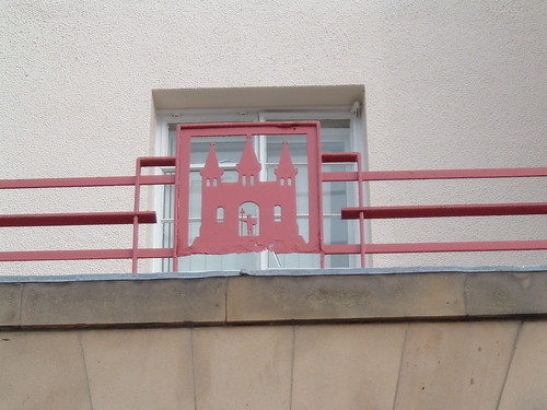 Kirkcaldy Fire Station Kirkcaldy crest