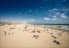 beach and the sky