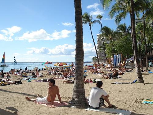 Waikiki Beach, Oahu, Hawai'i
