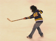 Hanson wannabe takes a slap-shot