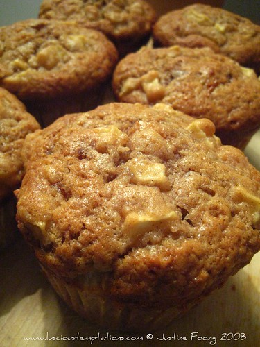 Toffee Apple Muffins