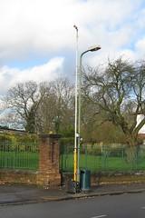 Temporary Traffic Camera in Park Road 27 November 2008