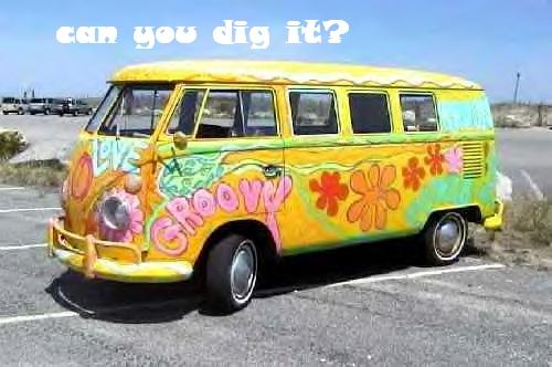 VW bus - groovy
