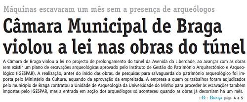 Diário do Minho 01/12/2008