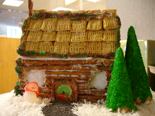 Naomi Gingerbread House