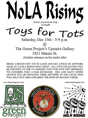 NoLA Rising Toys for Tots Benefit