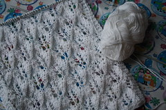 Lace Shawl WIP
