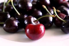 Cherry's Heart (dodjher) Tags: red love cherry heart blackcherry abigfave visualconcept heartaward platinumheartsaward dragondaggerphoto