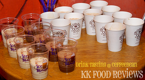 Coffeebean December Drink Tasting
