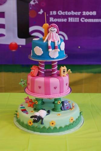 Dottylicious - Nick Jr cake