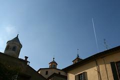 Volando sopra Citt di Castello (Daniele_B._) Tags: italy italia campanile castello umbria citt cittdicastello yourcountry