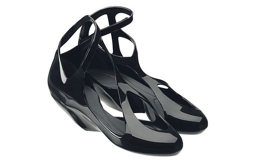 Melissa + Zaha Hadid Melflex Rubber Shoes