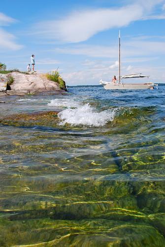 Island swim