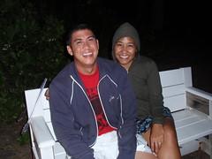 085- Mark & Kristy (HaYnCaNdi808) Tags: camping oahu mark northshore hi kristy laborday ficoh malaekahana