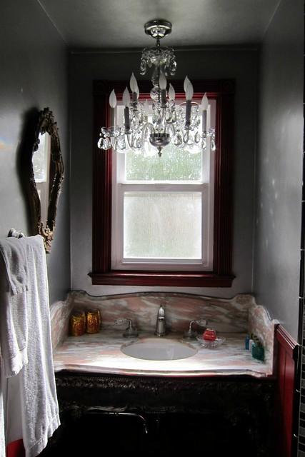 The Crystal Suite Bathroom @ The Madonna Inn