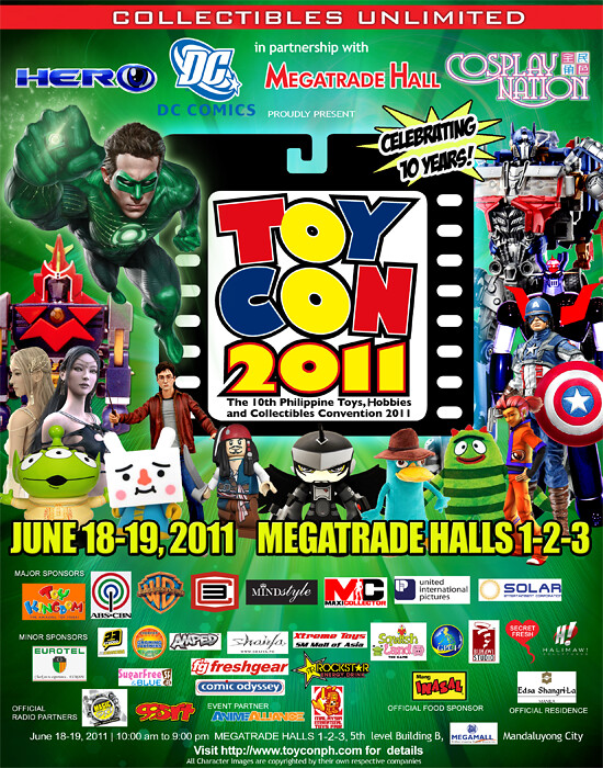 10th Philippine TOYCON Poster